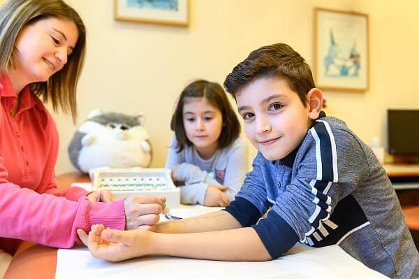 Kinderarztpraxis Karstens Behandlung Allergiediagnostik