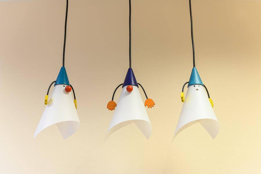 Bei uns haben auch die Lampen ein Eigenleben..